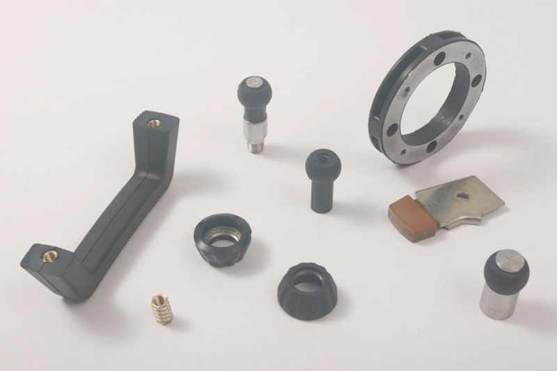 Gummi-Metallverbindungen